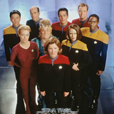 Star Trek: Voyager Cast Prints