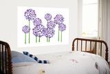 Allium violet Affiches par  Avalisa