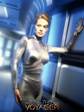 Star Trek: Voyager, Seven of Nine Poster