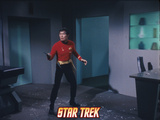 "Star Trek: The Original Series, Sulu's Counterpart in ""Mirror, Mirror"" Print"