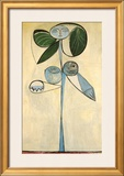 Woman/flower 1946 Poster by Pablo Picasso