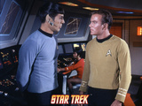Star Trek: The Original Series, Spock and Captain Kirk Photo
