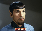 "Star Trek: The Original Series, Spock's Counterpart in ""Mirror, Mirror"" Prints"
