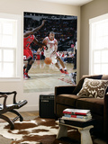 Chicago Bulls v Houston Rockets: Shane Battier and Luol Deng Prints by Bill Baptist