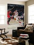 Chicago Bulls v Houston Rockets: Shane Battier and Luol Deng Prints by Bill Baptist