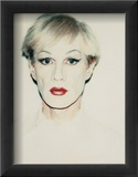 Self-Portrait in Drag, c.1981 (short hair) Prints by Andy Warhol