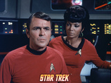 Star Trek: The Original Series, Scotty and Uhura Photo