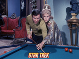 "Star Trek: The Original Series, Captain Kirk and Rayna in ""Requiem for Methuselah"" Posters"