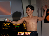 Star Trek: The Original Series, Sulu Fencing Photo