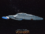 Star Trek: Voyager Starship NCC - 74656 Photo