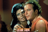 Star Trek: The Original Series, Uhura and Captain Kirk Photo