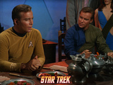 Star Trek: The Original Series, Two Captain Kirks Android Duplicate Photo