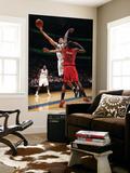 Toronto Raptors v Washington Wizards: JaVale McGee and Amir Johnson Art by Ned Dishman