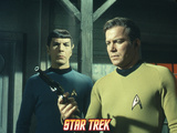 "Star Trek: The Original Series, Mr. Spock and Captain Kirk in ""Spectre of the Gun"" Prints"