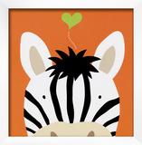 Peek-a-Boo XII, Zebra Posters by Yuko Lau