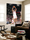 Chicago Bulls v Houston Rockets: Brad Miller Prints by Bill Baptist