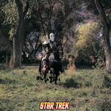 Star Trek: The Original Series, A Knight with a Lance on a Black Horse on &quot;Shore Leave&quot; Posters