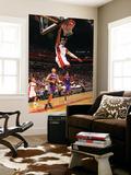 Phoenix Suns v Miami Heat: Dwyane Wade Art by Victor Baldizon