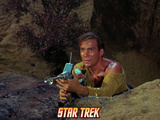 Star Trek: The Original Series, Captain Kirk with Phaser Photo