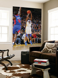 Detroit Pistons v Golden State Warriors: Ben Wallace and Dorell Wright Posters by Rocky Widner