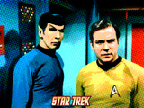 Star Trek: The Original Series, Mr. Spock and Captain James T. Kirk Prints