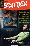 Star Trek: The Original Series Cover, Mr. Spock and Captain Kirk Print