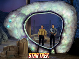 Star Trek: The Original Series, Captain Kirk and Mr. Spock in &quot;The City on the Edge of Forever&quot; Prints