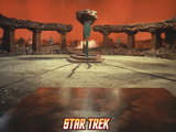 "Star Trek: The Original Series, Setting for ""Amok Time"" Photo"
