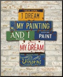 Vincent, Dream Mounted Print by Greg Constantine