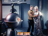 "Star Trek: The Original Series, Captain Kirk and Rayna in ""Requiem for Methuselah"" Photo"