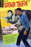 Star Trek: The Original Series Cover, Mr. Spock and Captain Kirk Photo