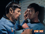 "Star Trek: The Original Series, McCoy and Spock's Counterpart in ""Mirror, Mirror"" Posters"