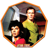 Star Trek: The Original Series, Uhura and Captain James T. Kirk Posters