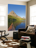 Kayaking on Two Medicine Lake in Glacier National Park, Montana, USA Posters by Chuck Haney