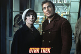 Star Trek: The Original Series, Captain Kirk and Edith Keeler Print
