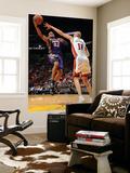 Phoenix Suns v Miami Heat: Grant Hill and Zydrunas Ilgauskas Posters by Andrew Bernstein
