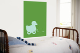 Green Ducky Posters by  Avalisa