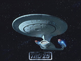Star Trek: The Next Generation Starship USS Enterprise NCC-1701-D Prints