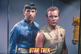 "Star Trek: The Original Series, Kirk and Spock's Counterpart in ""Mirror, Mirror"" Prints"