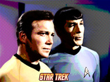 Star Trek: The Original Series, Captain James T. Kirk and Mr. Spock Photo