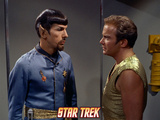 "Star Trek: The Original Series, Spock's Counterpart with Kirk in ""Mirror, Mirror"" Photo"