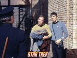 "Star Trek: The Original Series, Captain Kirk and Spock in ""The Planet on the Edge of Forever"" Prints"