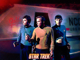 Star Trek: The Original Series, Dr. McCoy, Captain Kirk and Mr. Spock Photo