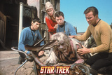 Star Trek: The Original Series, The Crew Sees to a Disease-Stricken Man Photo