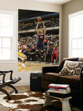 Atlanta Hawks v Indiana Pacers: Mike Bibby Prints by Ron Hoskins