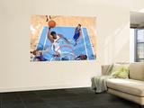 New York Knicks v Denver Nuggets: Nene Art by Garrett Ellwood