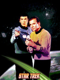 Star Trek: The Original Series, Mr. Spock and Captain James T. Kirk Print