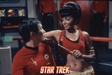 "Star Trek: The Original Series, Uhura's Counterpart with Sulu's Counterpart in ""Mirror, Mirror"" Photo"
