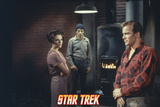"Star Trek: The Original Series, Captain Kirk, Mr. Spock and Edith Keeler in ""The Planet on the Edge Photo"