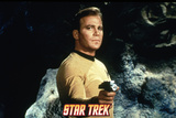 "Star Trek: The Original Series, Captain Kirk in ""The Devil in the Dark"" Photo"